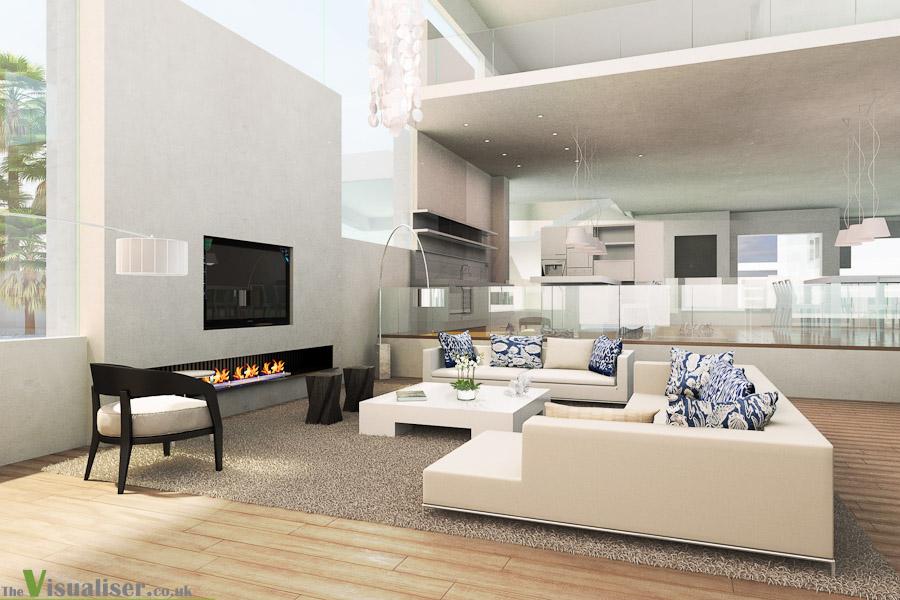 Soft furnishings interior design qatar for Interior design examples